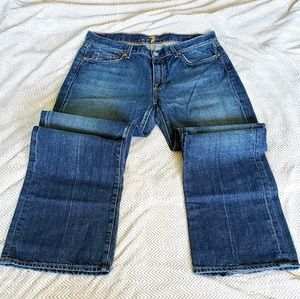 7 For All Mankind 34 Bootcut Jeans